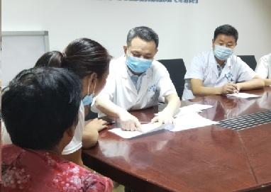 郑州军海医院脑病医院医生褚福镇:看病救人,是我从小就有的梦想